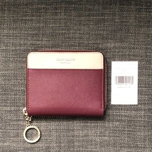 Kate Spade Small Cameron Leather Wallet